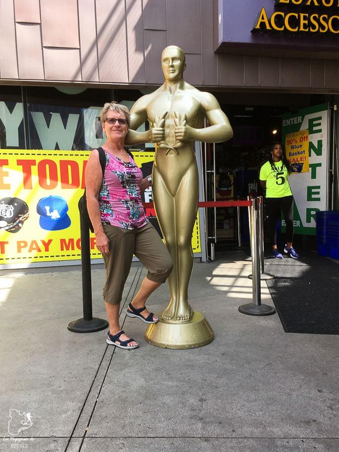 Statue de Oscar à Los Angeles dans notre article Visiter Los Angeles aux USA : Que voir et que faire à Los Angeles en 3 jours #losangeles #californie #usa #etatsunis #voyage