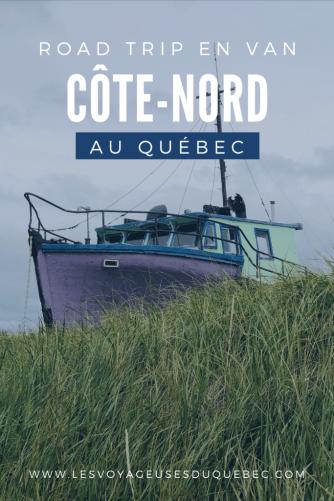 Visiter la Côte-Nord au Québec : Mon road trip en van
