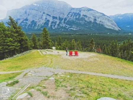Banff National Park en Alberta dans notre article Road trip vers l'ouest du Canada : mon itinéraire vers la Vallée de l'Okanagan #ouestcanada #ouestcanadien #roadtrip #canada #voyage