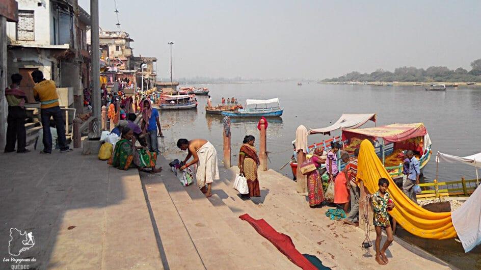 Sur les Ghats à Pushkar en Inde dans notre article Voyager en palette d'émotions : lorsque l'aventure devient introspection #emotions #voyage #voyager #introspection