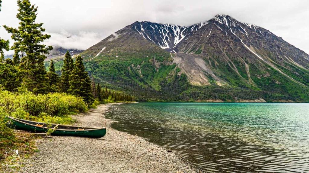 Kathleen Lake au Yukon au Canada dans notre article Mon road trip au Yukon au Canada : 12 jours de liberté en truck camper au gré du vent #yukon #canada #roadtrip #voyage