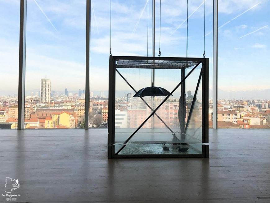L'art contemporain du Fondazione Prada à Milan dans notre article Visiter Milan en Italie : 8 incontournables de que voir et que faire en 3 jours #Milan #Italie #Europe #voyage