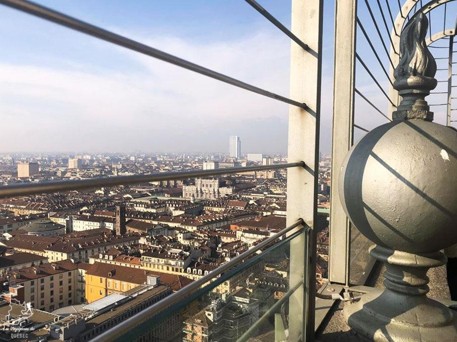 Vue depuis le Mole Antonelliana à Turin dans notre article Visiter Turin en 1 jour : Que voir et que faire à Turin en Italie #turin #italie #europe #voyage