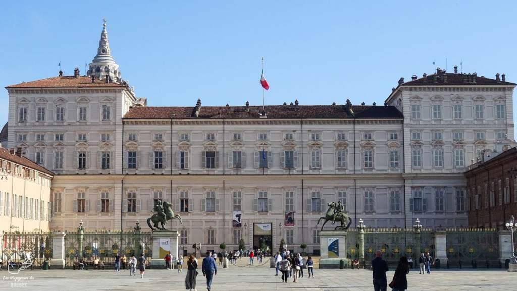 Le Palais Royal de Turin dans notre article Visiter Turin en 1 jour : Que voir et que faire à Turin en Italie #turin #italie #europe #voyage