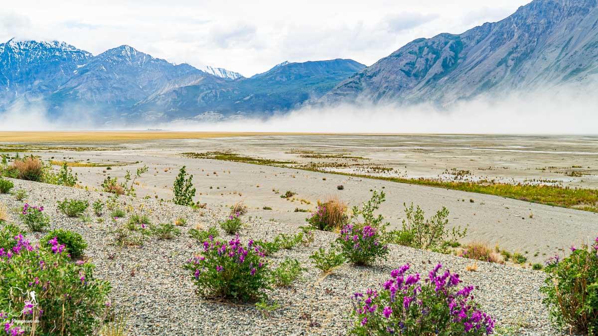 Tempête de sable à Kluane au Yukon au Canada dans notre article Mon road trip au Yukon au Canada : 12 jours de liberté en truck camper au gré du vent #yukon #canada #roadtrip #voyage