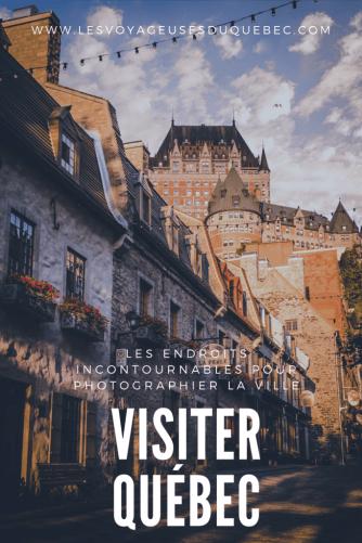 Visiter Québec : les plus beaux points de vue sur la ville de Québec