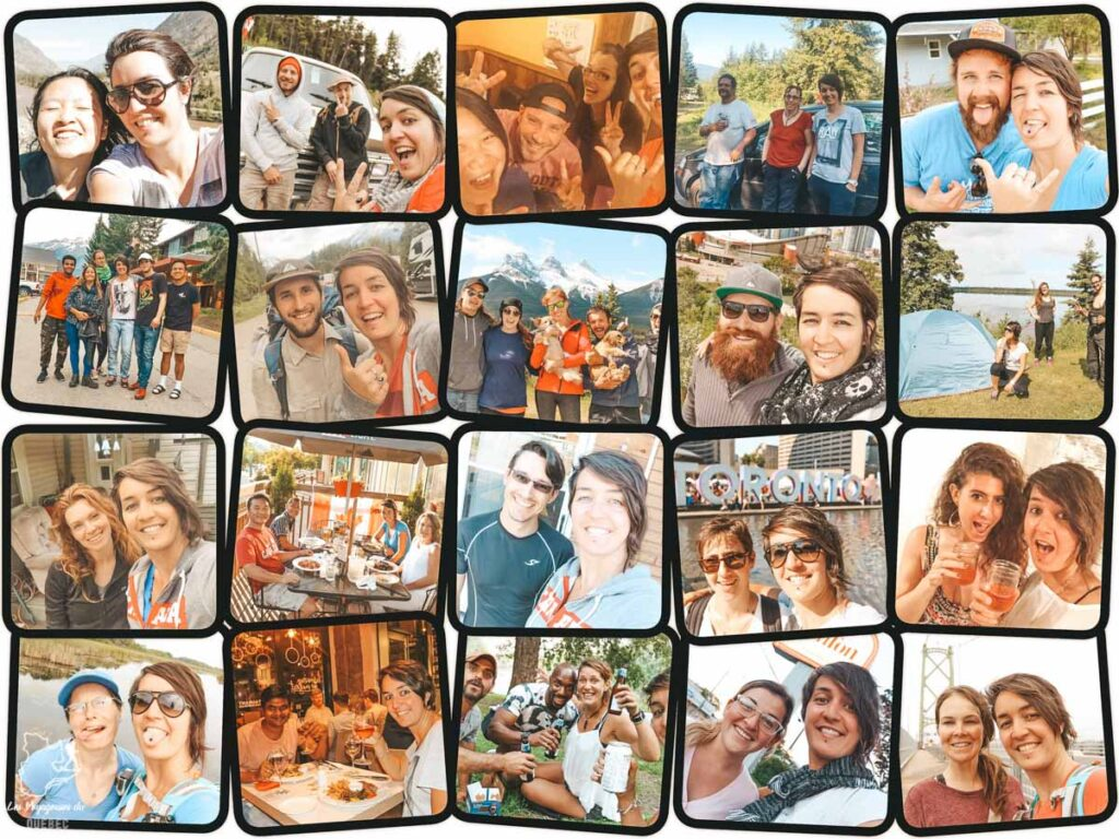 Rencontres faites en Couchsurfing au Canada dans notre article Couchsurfing au Canada : Mon expérience en Couchsurfing à travers le Canada #couchsurfing #canada #voyage #roadtrip