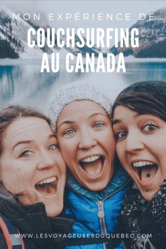 Mon expérience de Couchsurfing au Canada : mes conseils