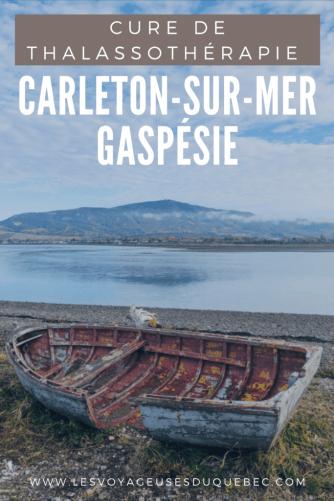 Thalassothérapie à Carleton-sur-Mer en Gaspésie