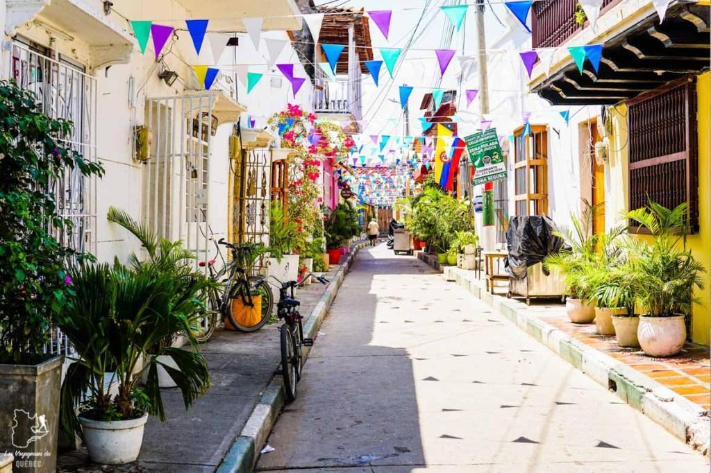 Vieille ville de Carthagène dans notre article Voyage en Colombie : 3 semaines à voyager seule en Colombie à Bogotá, Carthagène et San Andrés #colombie #ameriquedusud #voyagerseule #voyage #bogota #carthagene #sanandres