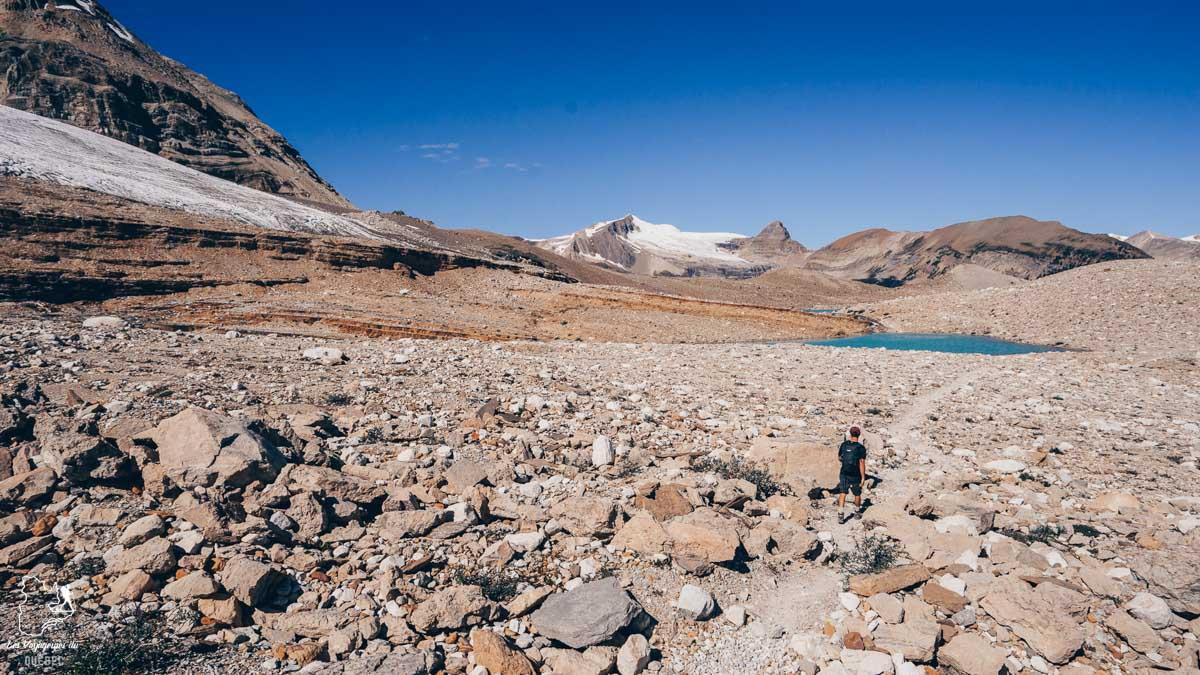 Randonnée sur la Iceline Trail dans le Parc Yoho au BC dans notre article Voyager au Canada en temps de pandémie : Mon voyage dans l'Ouest canadien #canada #ouestcanadien #pandemie #covid19 #voyage