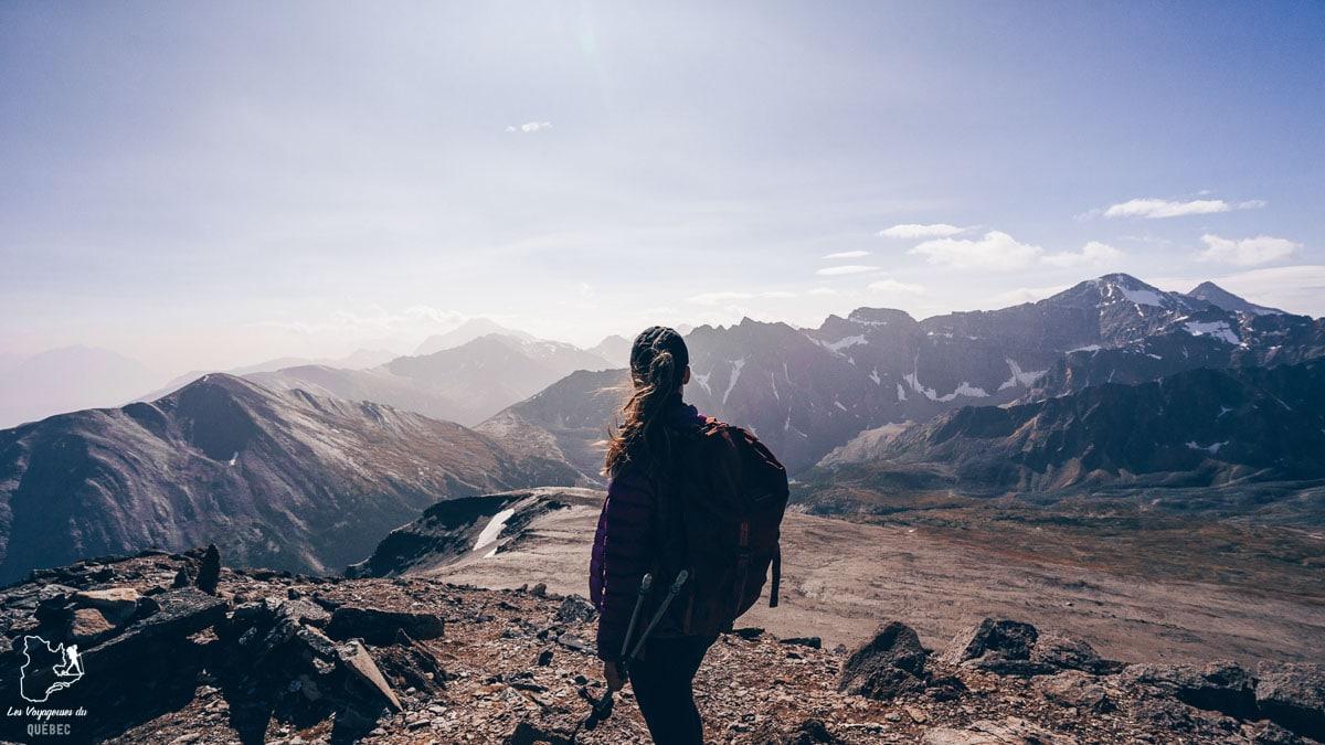 Randonnée sur Indian Ridge Trail à Jasper en Alberta dans notre article Voyager au Canada en temps de pandémie : Mon voyage dans l'Ouest canadien #canada #ouestcanadien #pandemie #covid19 #voyage