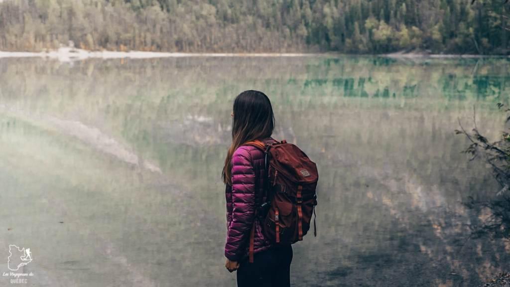 Lake Kinney dans le Parc Robson au B.C. dans notre article Voyager au Canada en temps de pandémie : Mon voyage dans l'Ouest canadien #canada #ouestcanadien #pandemie #covid19 #voyage