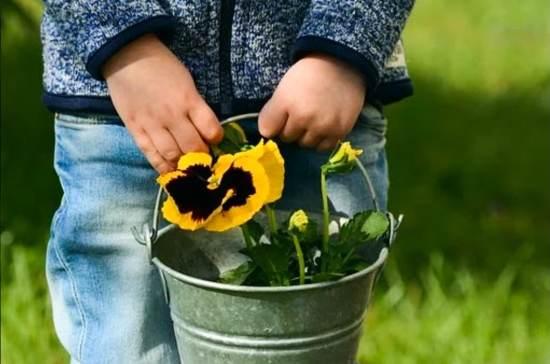 Faire du jardinage dans notre article Comment j'ai adopté un mode de vie minimaliste avant mon grand départ en voyage #minimalisme #modedevie #minimaliste #simplicite