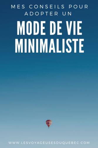 Comment adopter un mode de vie minimaliste : Mes conseils