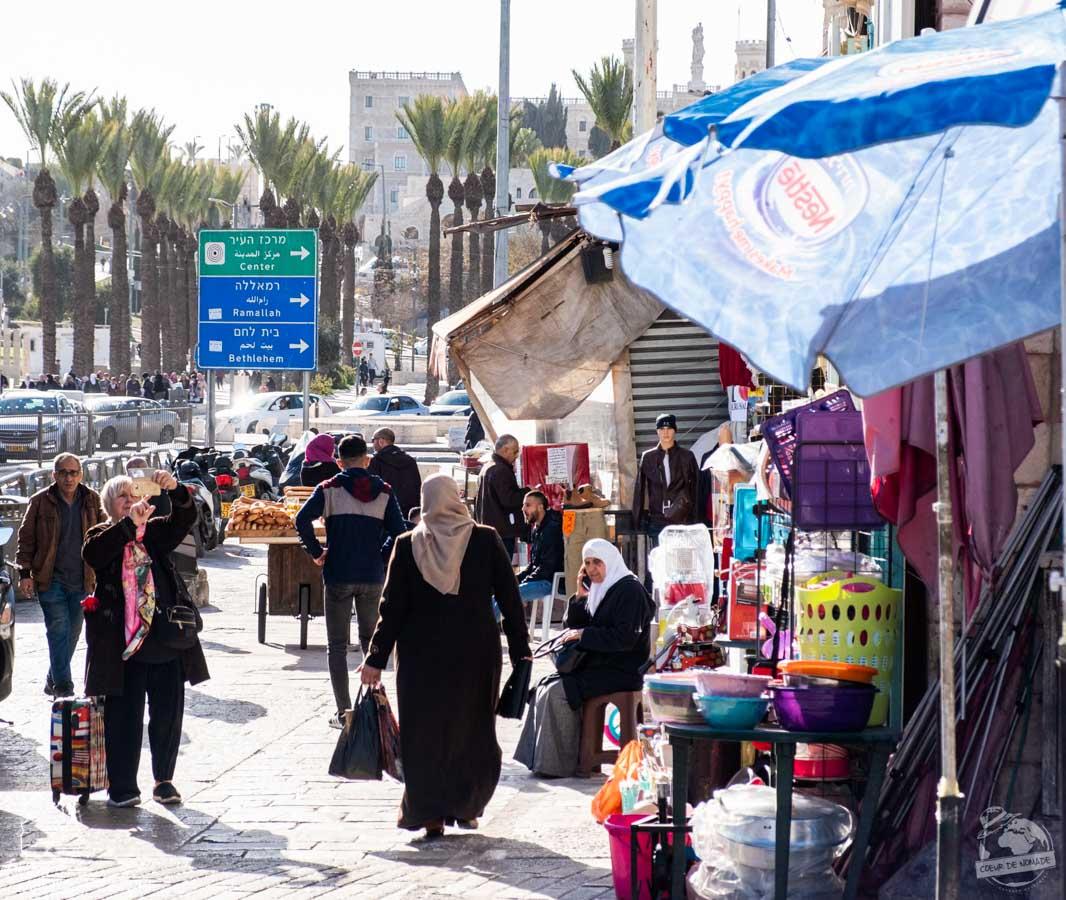 Visiter Jérusalem en Israël dans notre article Noël en Terre sainte : 9 jours à visiter Israël et la Palestine durant les fêtes #noel #terresainte #israel #palestine