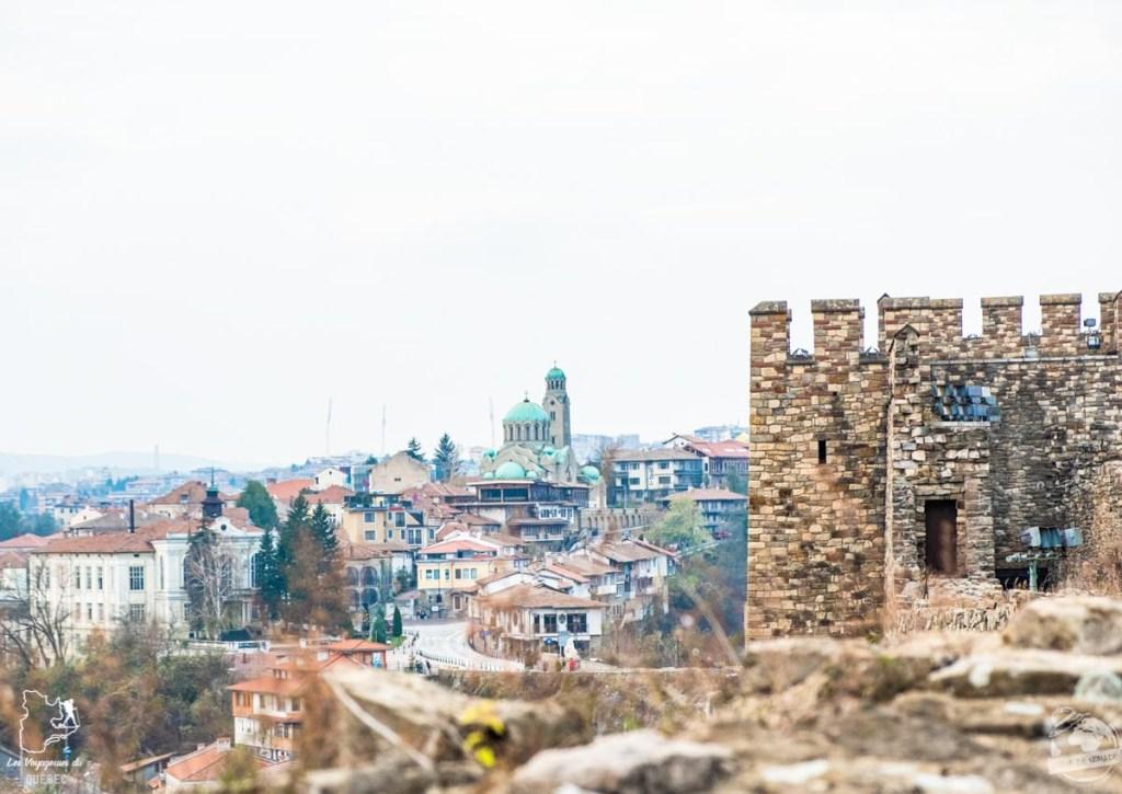 Forteresse Tsarevets Veliko Tarnovo en Bulgarie dans notre article Visiter la Bulgarie : itinéraire et conseils pour 1 mois de voyage en Bulgarie #bulgarie #europe #europedelest #voyage