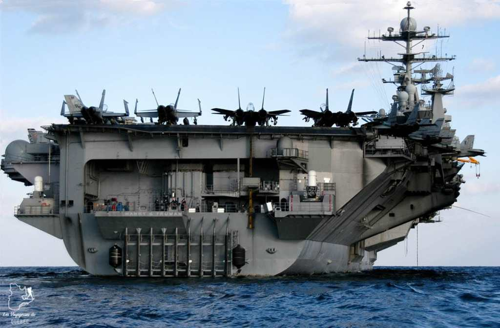 Porte-avions du USS Midway de San Diego dans notre article Visiter San Diego aux USA : Que voir et que faire à San Diego en 3 jours #sandiego #californie #usa #voyage