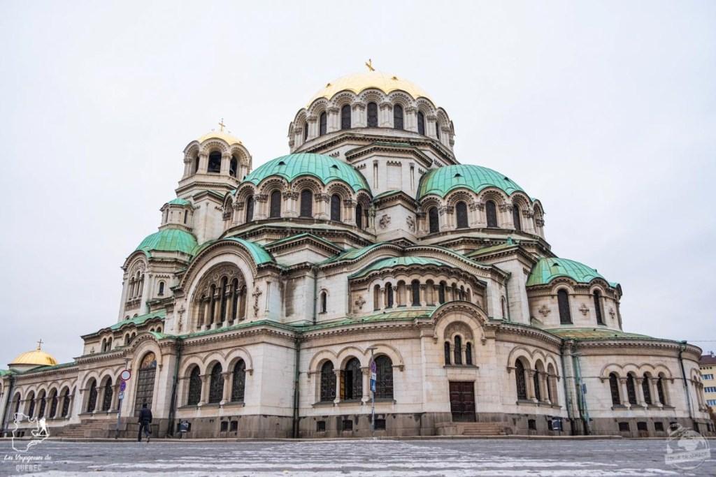 Cathédrale Saint-Alexandre-Nevski à Sofia en Bulgarie dans notre article Visiter la Bulgarie : itinéraire et conseils pour 1 mois de voyage en Bulgarie #bulgarie #europe #europedelest #voyage