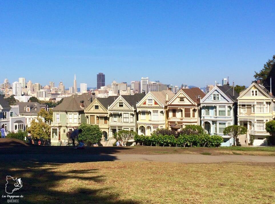 Maisons Painted Ladies de San Francisco dans notre article Que voir à San Francisco aux USA : ma découverte de la ville en 7 jours #sanfrancisco #californie #usa #etatsunis #voyage