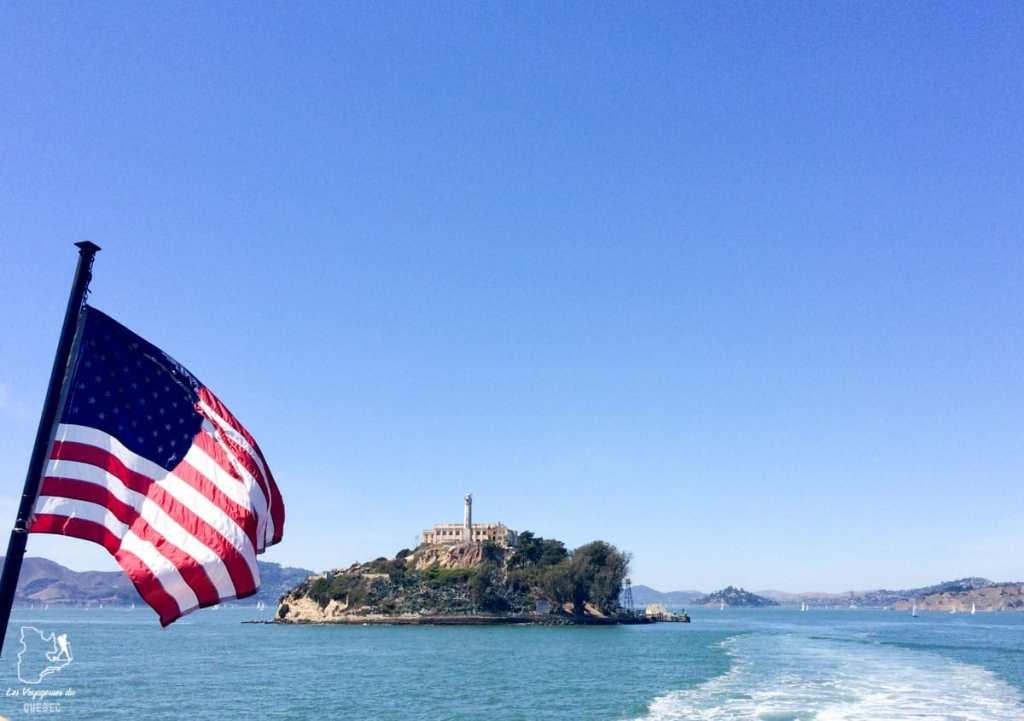 En bateau vers l'île d'Alcatraz dans notre article Que voir à San Francisco aux USA : ma découverte de la ville en 7 jours #sanfrancisco #californie #usa #etatsunis #voyage