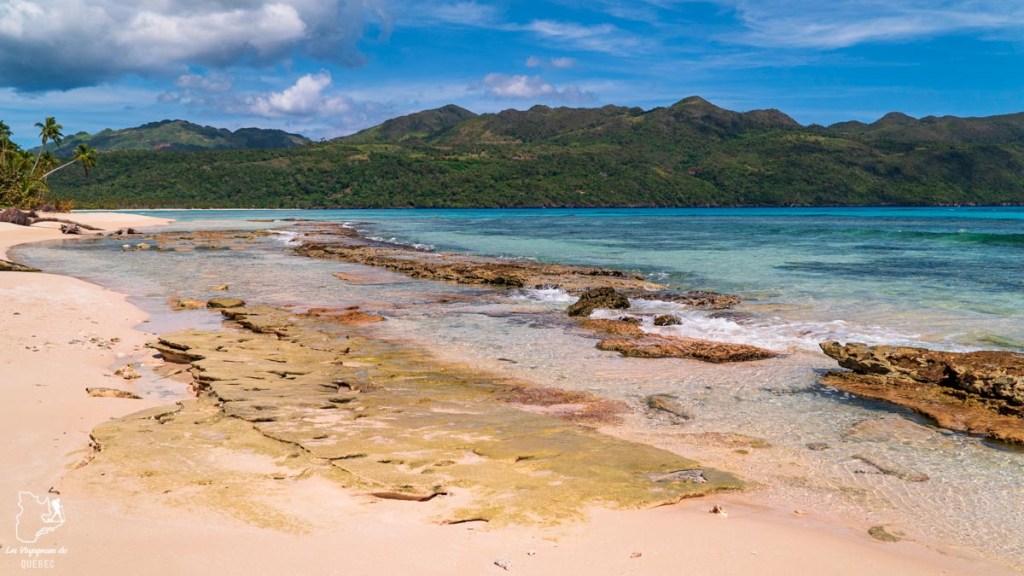 Playa Rincon en République Dominicaine dans notre article Voyager en République Dominicaine autrement : Las Terrenas, destination coup de coeur #republiquedominicaine #caraibes #antilles #amerique #voyage #voyagedanslesud #lasterrenas