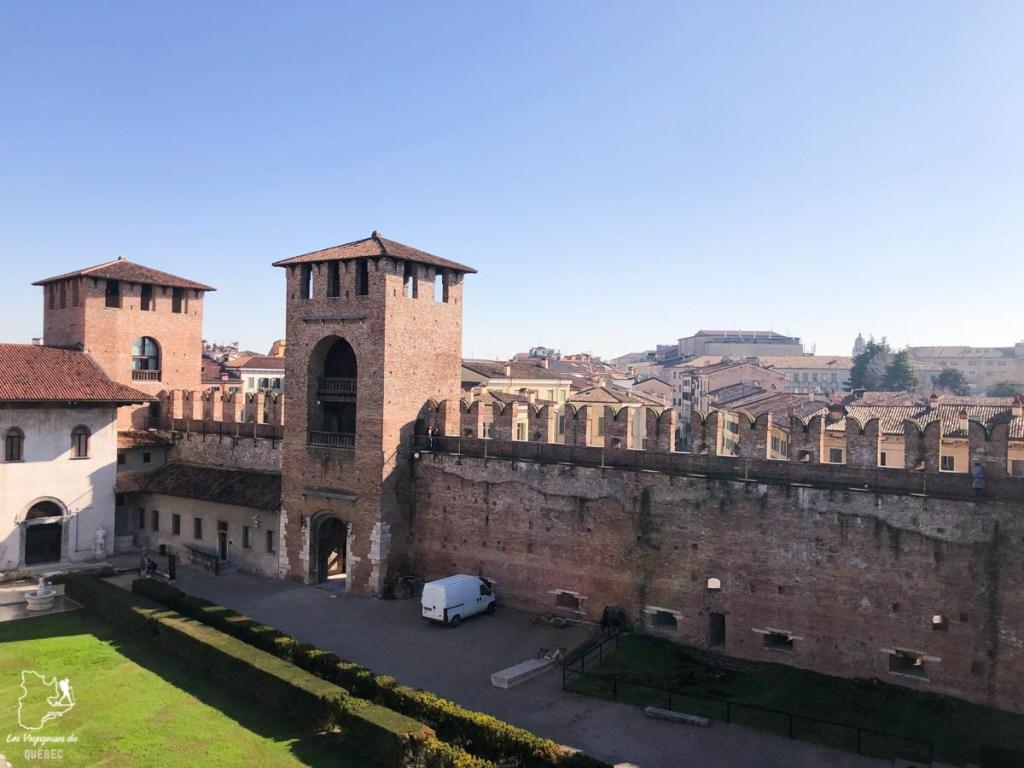 Castelvecchio à Vérone dans notre article Visiter Vérone en Italie : mes incontournables de la ville de Roméo et Juliette #verone #italie #venetie #voyage #europe