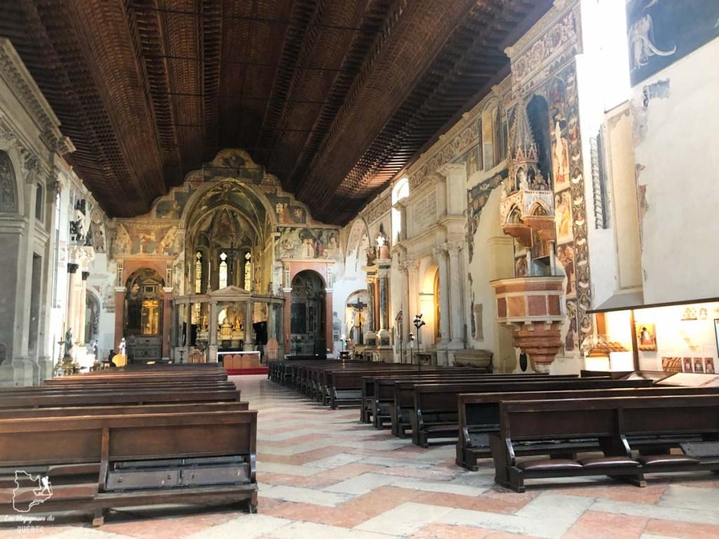 Église Chiesa di San Fermo Maggiore à Vérone dans notre article Visiter Vérone en Italie : mes incontournables de la ville de Roméo et Juliette #verone #italie #venetie #voyage #europe