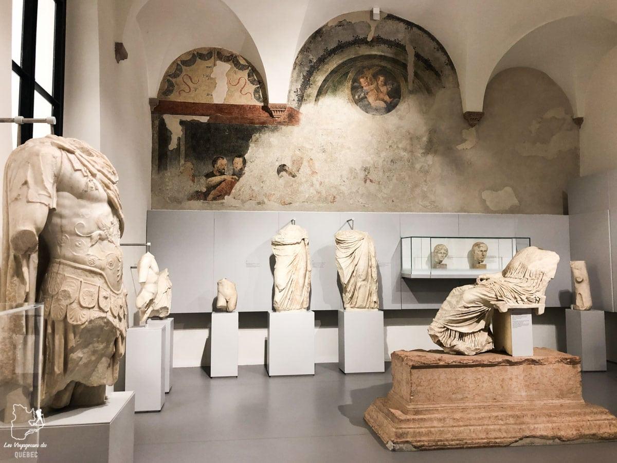 Musée du Teatro Romano à Vérone dans notre article Visiter Vérone en Italie : mes incontournables de la ville de Roméo et Juliette #verone #italie #venetie #voyage #europe
