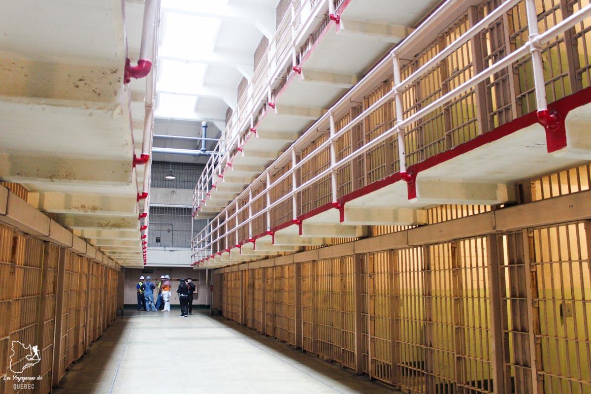 Cellules à la prison d'Alcatraz à San Francisco dans notre article Visiter Alcatraz : Tout savoir sur la visite de cette prison de San Francisco #alcatraz #ile #sanfrancisco #californie #usa #etatsunis #prison