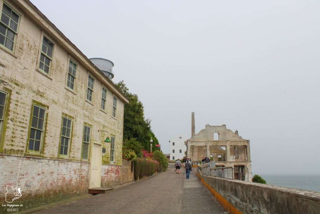 Prison d'Alcatraz à San Francisco dans notre article Visiter Alcatraz : Tout savoir sur la visite de cette prison de San Francisco #alcatraz #ile #sanfrancisco #californie #usa #etatsunis #prison
