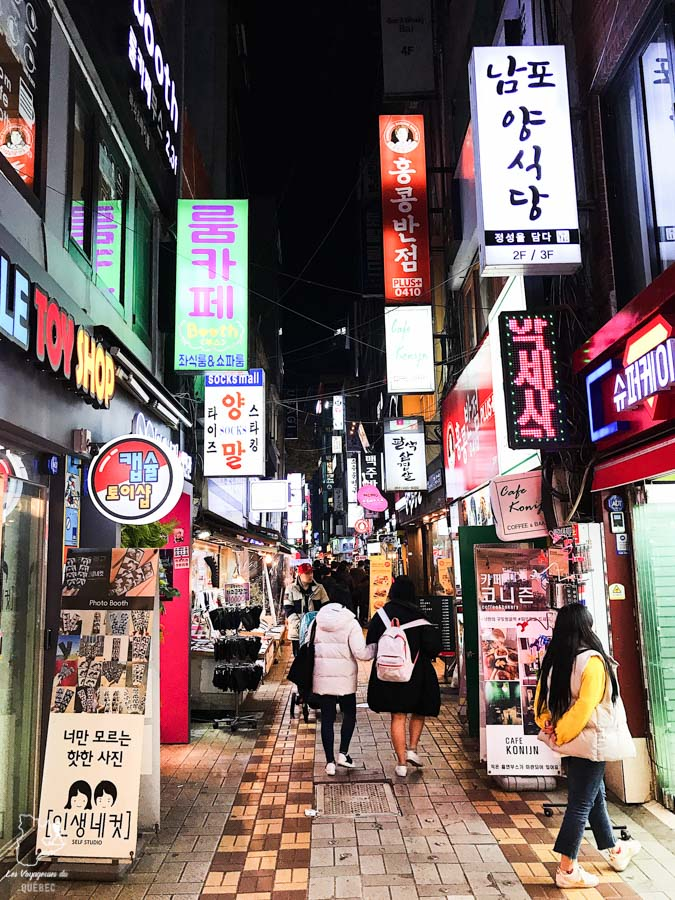 Quartier BIFF Square de Busan dans notre article Visiter Busan en Corée du Sud : Quoi faire à Busan en 7 incontournables #coreedusud #asie #voyage #busan