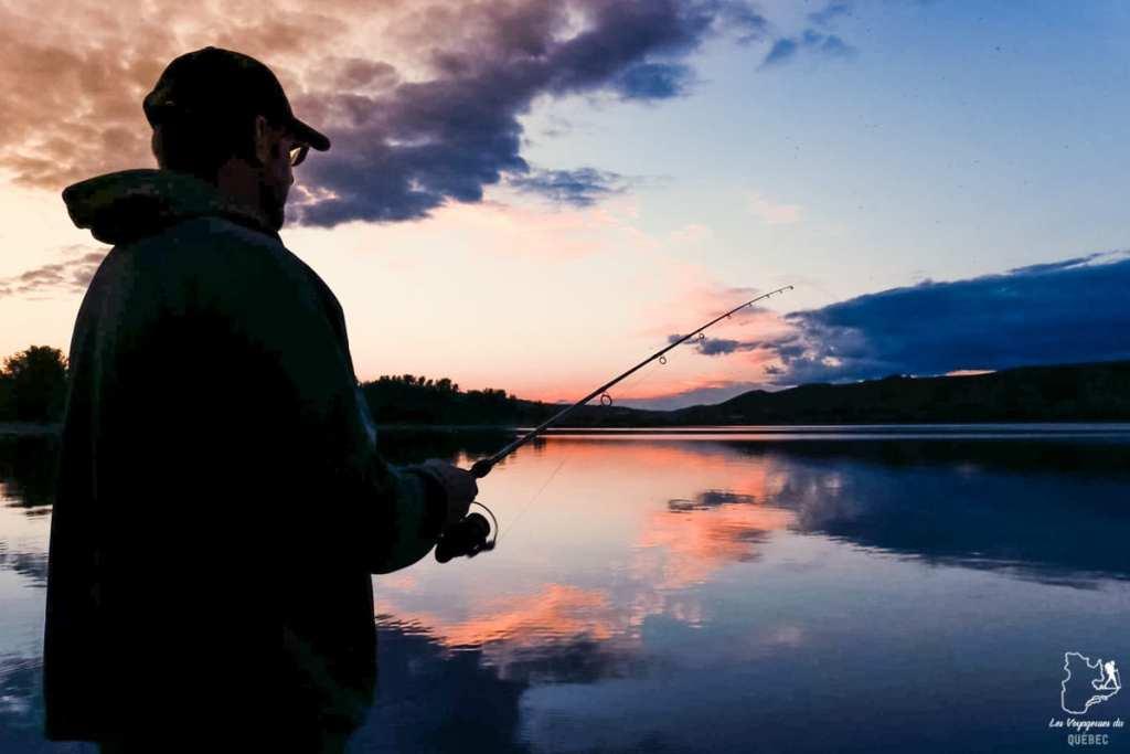 Pêche près de Régina en Saskatchewan dans notre article Visiter le Canada autrement : Ma traversée du Canada hors des sentiers battus #canada #roadtrip
