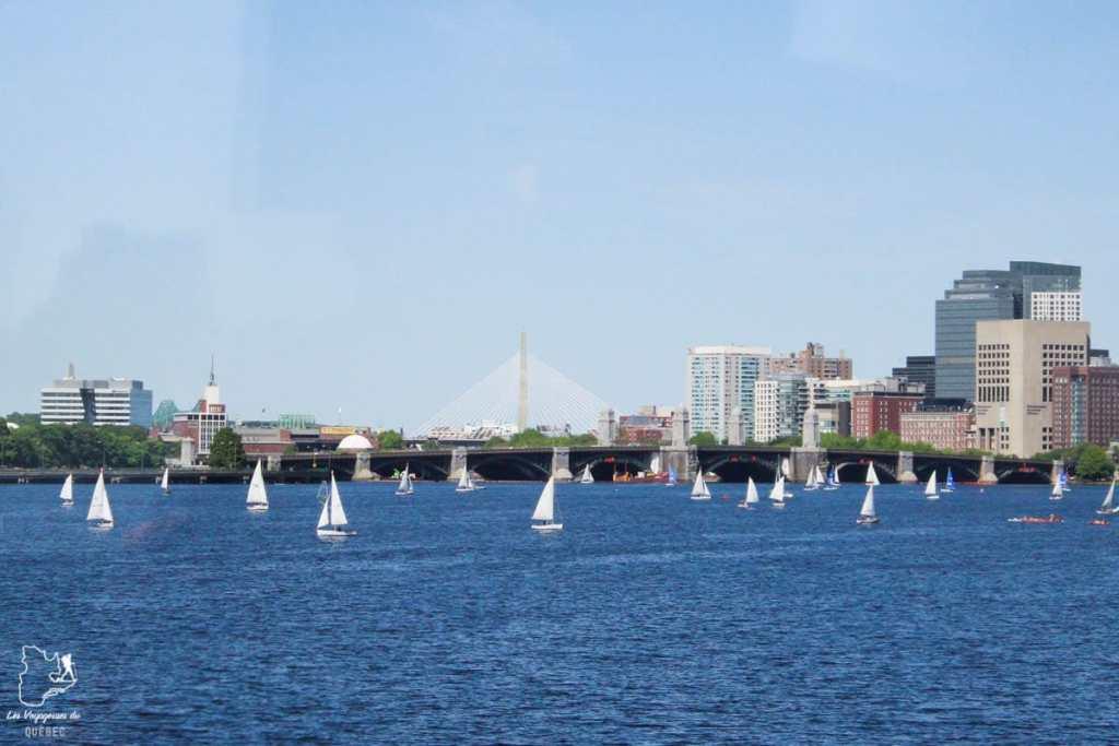 Charles River à Boston en Nouvelle-Angleterre dans notre article Visiter la Nouvelle-Angleterre aux USA : Que voir lors d'un road trip de 3 jours #road trip #nouvelleangleterre #usa #etatsunis #itineraire