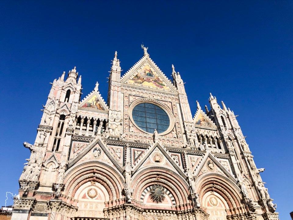 Duomo Santa Maria Assunta, cathédrale de Sienne dans notre article Visiter Sienne en Toscane en Italie en 10 incontournables et adresses foodies #italie #sienne #toscane #voyage