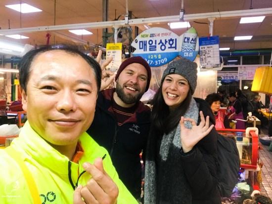 Marché de poissons Jagalchi à Busan dans notre article Visiter Busan en Corée du Sud : Quoi faire à Busan en 7 incontournables #coreedusud #asie #voyage #busan