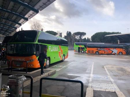 Bus de Rome à Sienne en Italie dans notre article Visiter Sienne en Toscane en Italie en 10 incontournables et adresses foodies #italie #sienne #toscane #voyage