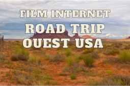 film d'un road trip dans l'ouest des Usa des Aventuriers voyageurs