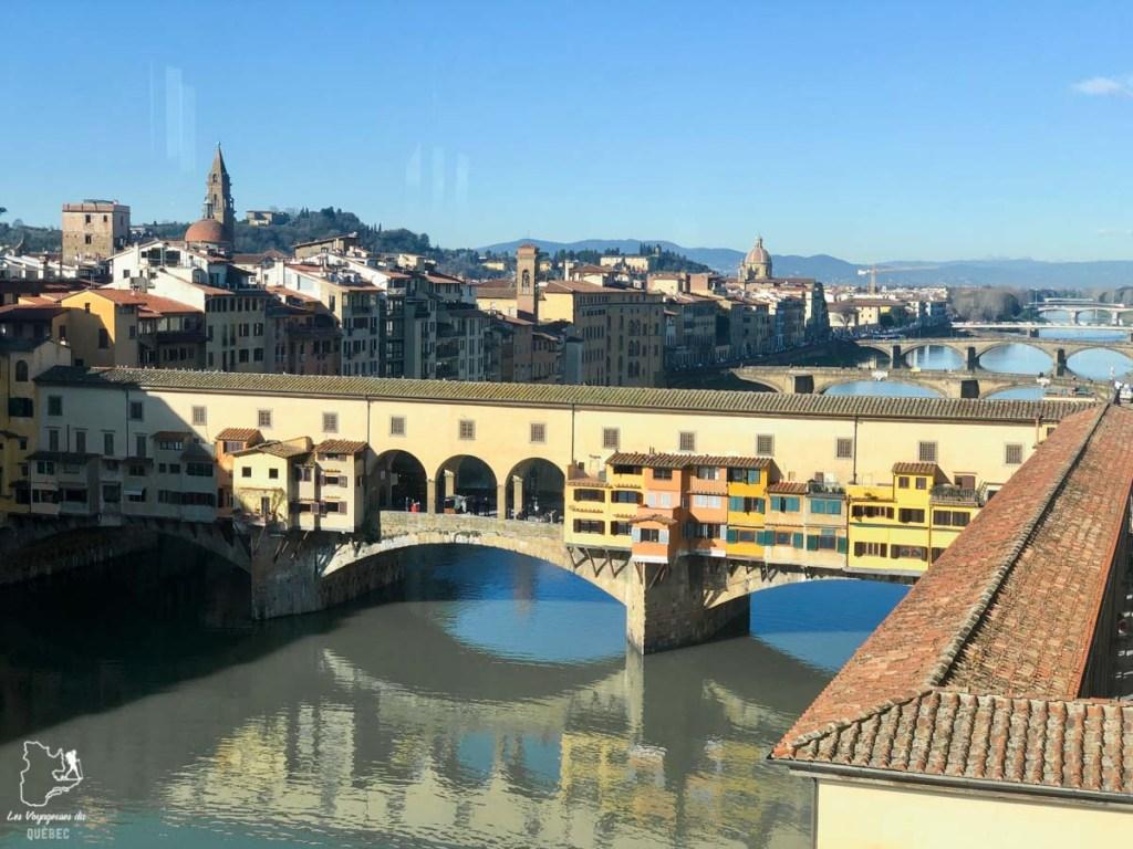 Le Ponte Vecchio de Florence dans notre article Visiter Florence en 5 jours : Que voir en 10 incontournables de Florence en Italie #florence #italie #europe #toscane #voyage