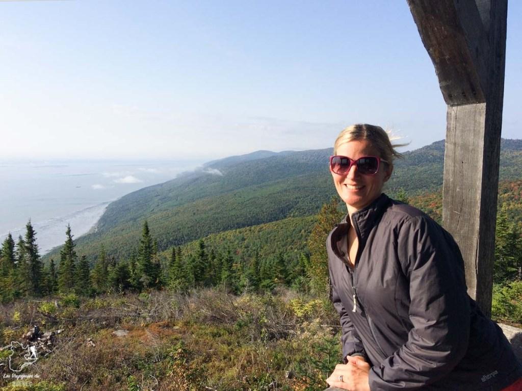 Dormir au sommet dans un refuge sur le Sentier des Caps de Charlevoix dans notre article Nuit en montagne: 5 endroits où dormir au sommet d'une montagne au Québec #quebec #montagne #sommet #hebergement
