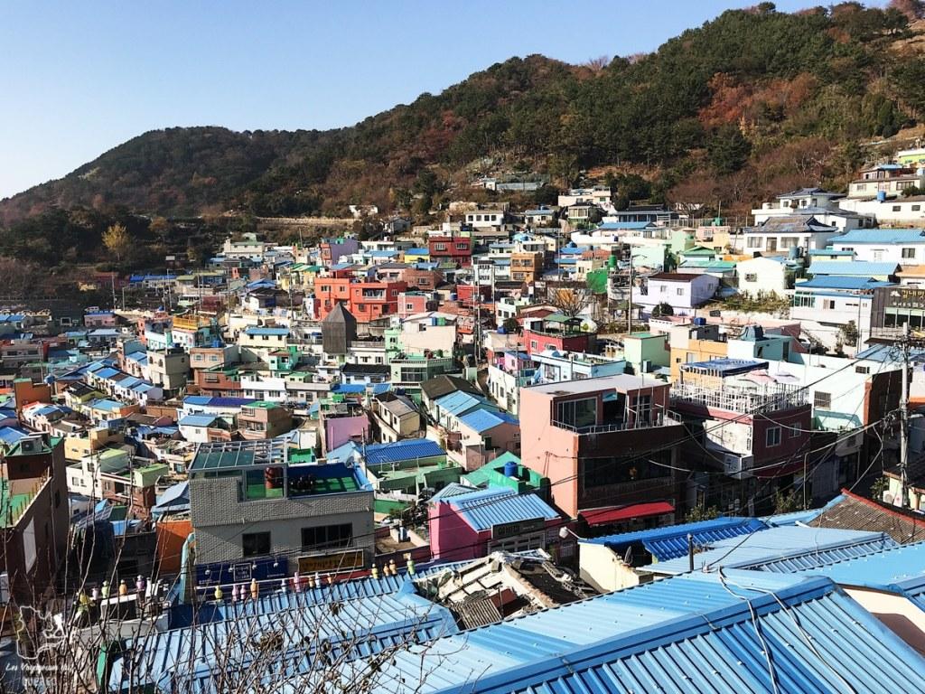 Vue depuis l'observatoire de Gamcheon à Busan dans notre article Visiter Busan en Corée du Sud : Quoi faire à Busan en 7 incontournables #coreedusud #asie #voyage #busan