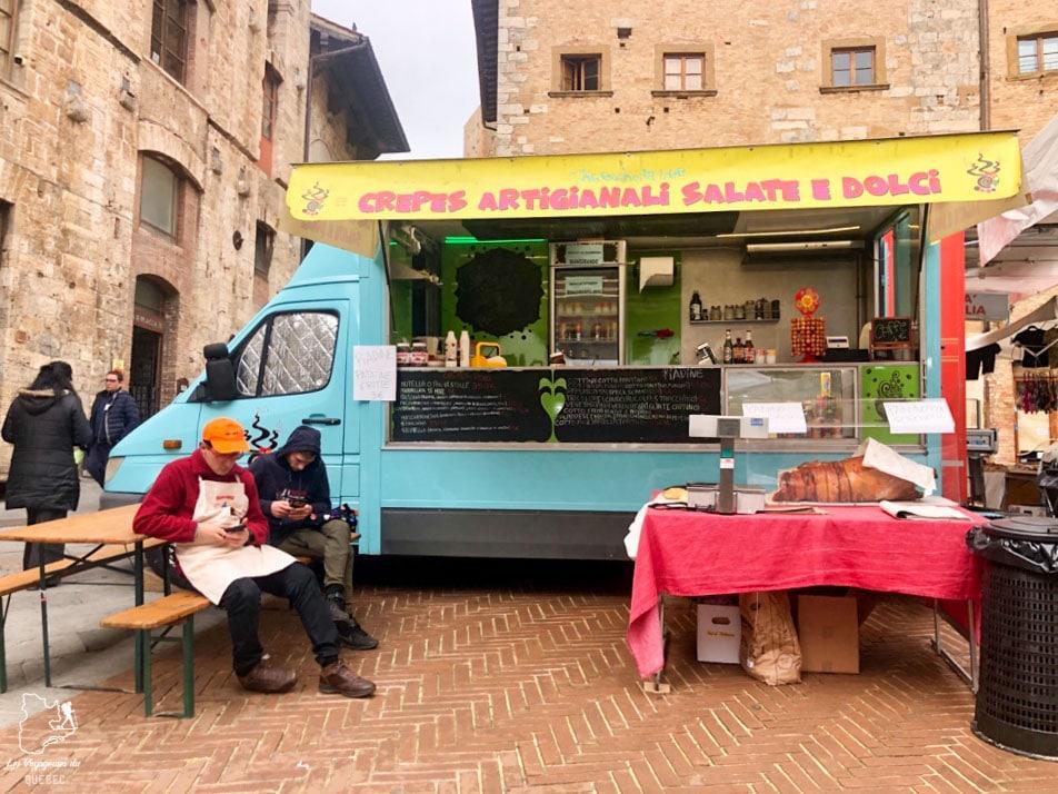 Weekend à San Gimignano en Italie dans notre article Mon weekend à visiter San Gimignano en Italie : Magnifique ville fortifiée de la Toscane #sangimignano #toscane #italie #unesco #voyage