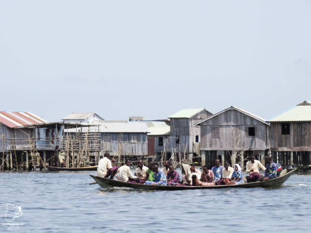 Le village lacustre de Sô-Tchanhoué au Bénin en Afrique dans notre article Voyage au Bénin: Le Bénin en Afrique en 8 incontournables à visiter #benin #afrique #voyage