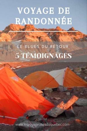 5 témoignages sur le BLUES après un voyage de randonnée en montagnes #randonnee #blues #retourdevoyage #trek #voyage