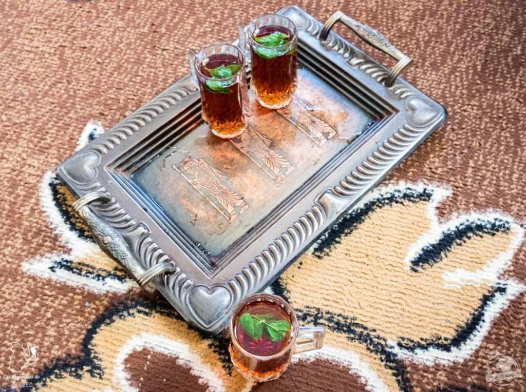 Pause thé lors d'une excursion à Ajloun en Jordanie dans notre article Visiter la Jordanie: Mon itinéraire de 2 semaines en road trip en Jordanie #jordanie #road trip #voyage