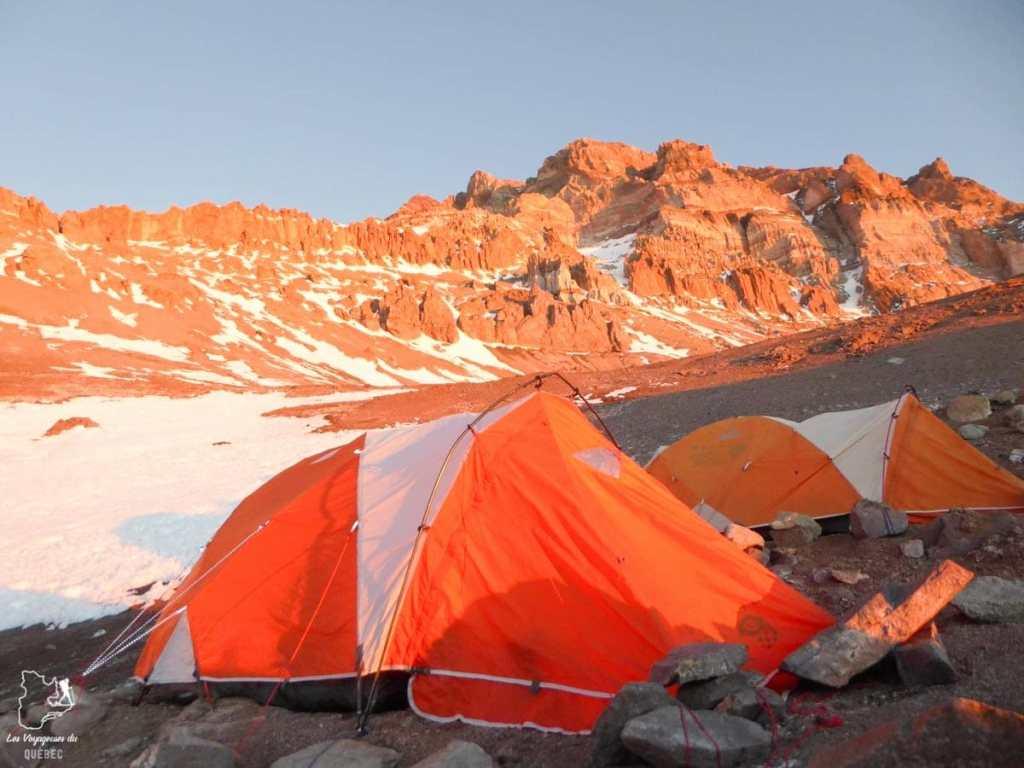 Trek sur l'Aconcagua en Argentine dans notre article 5 témoignages sur le BLUES après un voyage de randonnée en montagnes #randonnee #blues #retourdevoyage #trek #voyage