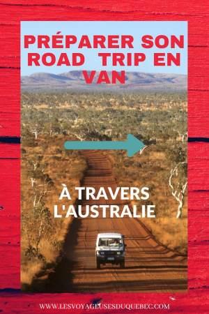 Tout savoir pour préparer son road trip en van en Australie #australie #roadtrip #van #voyage