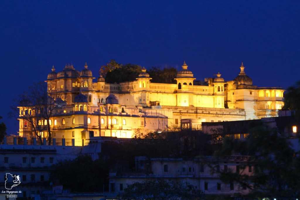 City Palace d'Udaipur dans notre article Visiter le Rajasthan en Inde : Itinéraire et conseils pour un voyage dans cet État du Nord de l'Inde #rajasthan #inde #itineraire #voyage