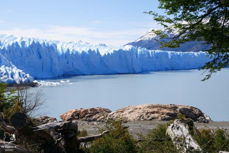 Le glacier Perito Moreno en Patagonie dans notre article Quitter une vie où il faut plaire à tout prix pour voyager et être enfin libre #voyage #voyageraufeminin #femme #inspiration