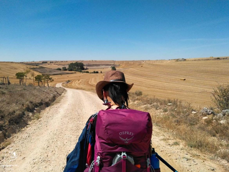 Camino Frances, chemin de Compostelle en Espagne, dans notre article Quitter une vie où il faut plaire à tout prix pour voyager et être enfin libre #voyage #voyageraufeminin #femme #inspiration